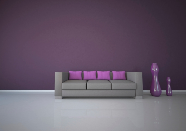 Purple Interior Design